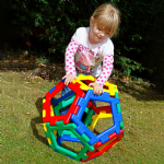 Giant Polydron Pentagon Set